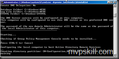 ติดตั้ง Active Directory บน Server Core
