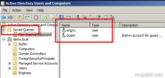 การค้นหา Object ใน Active Directory ที่ใช้งานบ่อย ๆ ด้วย Save Query