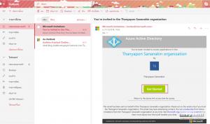 #1 email เชิญเข้าใช้งาน Dev Test Labs